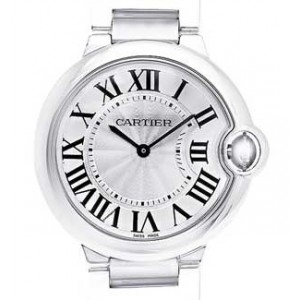 Cartier Ballon Bleu Stainless Steel Unisex Watch - W69011Z4-dial