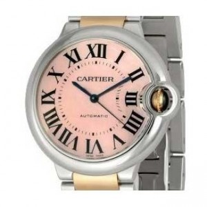 Cartier Ballon Bleu Stainless Steel Unisex Watch - W6920033-dial