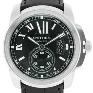 Cartier Calibre De Cartier Stainless Steel Mens Watch - W7100041-dial