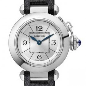 Cartier Misha Stainless Steel Ladies Watch - W3140025-dial