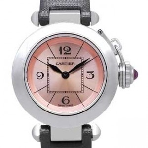 Cartier Pasha Stainless Steel Ladies Watch - W3140026-dial