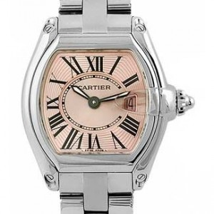 Cartier Roadster Stainless Steel Ladies Watch - W62017V3-dial
