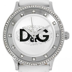 D&G Dolce and Gabanna Stainless Steel Ladies Watch - DW0504-dial