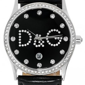 D&G Gloria Stainless Steel Ladies Watch - DW0008-dial