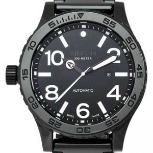 Nixon 51-30 Ceramic Mens Watch - A147-001-dial
