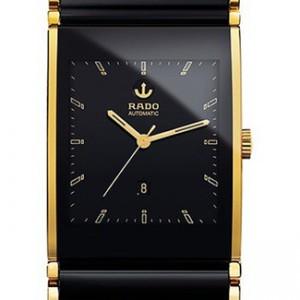 Rado Integral Two Tone Ceramic Mens Watch - R20847152-dial