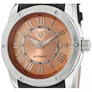Swiss Legend Traveler Stainless Steel Mens Watch - SL-10005A-09-dial