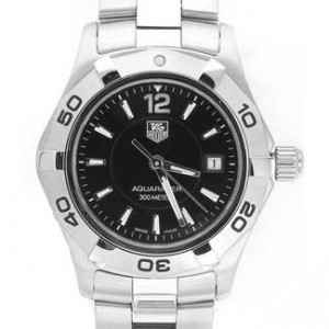 Tag Heuer Aquaracer Stainless Steel Ladies Watch - WAF1410.BA0823-dial