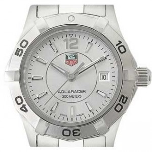 Tag Heuer Aquaracer Stainless Steel Ladies Watch - WAF1412.BA0823-dial