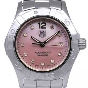 Tag Heuer Aquaracer Stainless Steel Ladies Watch - WAF141A.BA0824-dial