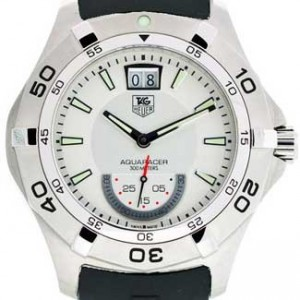 Tag Heuer Aquaracer Stainless Steel Mens Watch - WAF1011.FT8010-dial