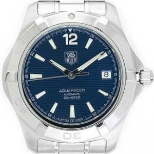 Tag Heuer Aquaracer Stainless Steel Mens Watch - WAF2112.BA0806-dial