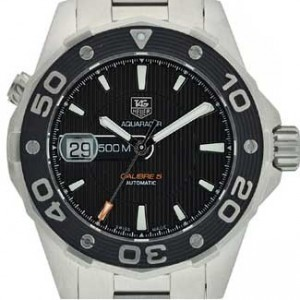 Tag Heuer Aquaracer Stainless Steel Mens Watch - WAJ2110.BA0870-dial