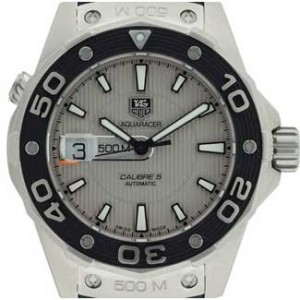 Tag Heuer Aquaracer Stainless Steel Mens Watch - WAJ2111.FT6015-dial