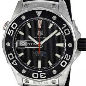 Tag Heuer Aquaracer Stainless Steel Mens Watch - WAJ2119.FT6015-dial