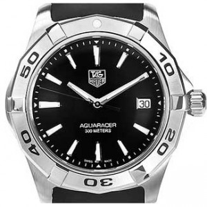 Tag Heuer Aquaracer Stainless Steel Mens Watch - WAP1110.FT6029-dial
