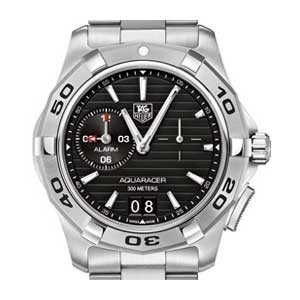 Tag Heuer Aquaracer Stainless Steel Mens Watch - WAP111Z.BA0831-dial
