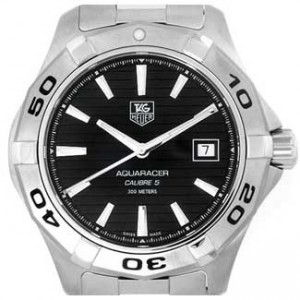 Tag Heuer Aquaracer Stainless Steel Mens Watch - WAP2010.BA0830-dial