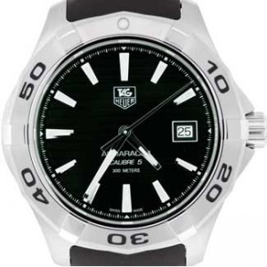 Tag Heuer Aquaracer Stainless Steel Mens Watch - WAP2010.FT6027-dial