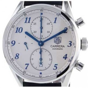 Tag Heuer Carrera Heritage Stainless Steel Mens Watch - CAS2111.FC6292-dial
