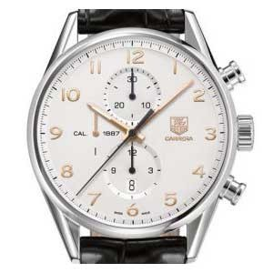 Tag Heuer Carrera Stainless Steel Mens Watch - CAR2012.FC6235-dial