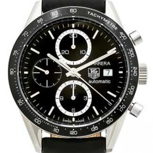 Tag Heuer Carrera Stainless Steel Mens Watch - CV2010.FC6233-dial