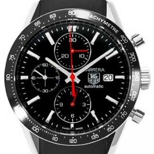 Tag Heuer Carrera Stainless Steel Mens Watch - CV2014.FT6014-dial