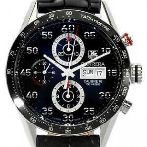 Tag Heuer Carrera Stainless Steel Mens Watch - CV2A10.FC6235-dial