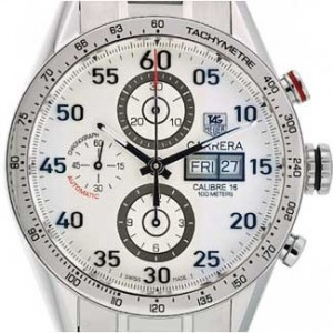 Tag Heuer Carrera Stainless Steel Mens Watch - CV2A11.BA0796-dial