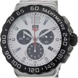 Tag Heuer Formula 1 Stainless Steel Mens Watch - CAU1111.BA0858-dial