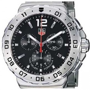 Tag Heuer Formula 1 Stainless Steel Mens Watch - CAU1112.BA0858-dial