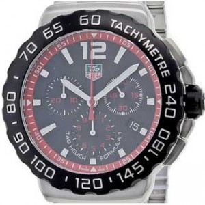 Tag Heuer Formula 1 Stainless Steel Mens Watch - CAU1116.BA0858-dial
