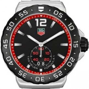 Tag Heuer Formula 1 Stainless Steel Mens Watch - WAU1114.BA0858-dial