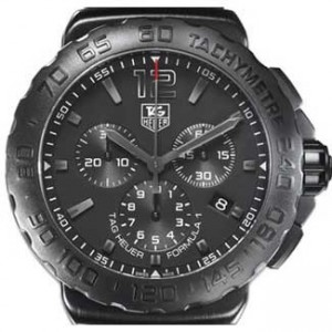 Tag Heuer Formula 1 Titanium Carbide-Coated SS Watch-CAU1114FT6024-dial