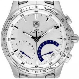 Tag Heuer Link Stainless Steel Mens Watch - CJF7111.BA0587-dial