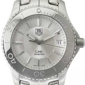 Tag Heuer Link Stainless Steel Mens Watch - WJ1111.BA0570-dial