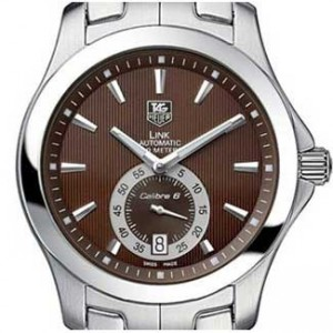 Tag Heuer Link Stainless Steel Mens Watch - WJF211C.BA0570-dial