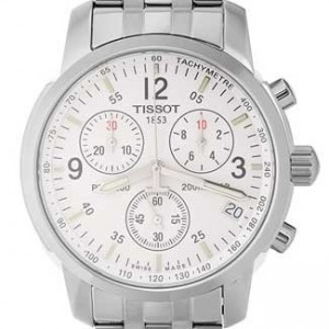 Tissot PRC 200 Stainless Steel Mens Watch - T17.1.586.32-dial