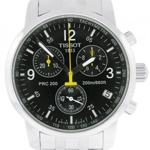 Tissot PRC 200 Stainless Steel Mens Watch - T17.1.586.52-dial