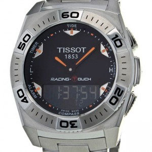 Tissot Racing Touch Stainless Steel Mens Watch - T0025201105102-dial
