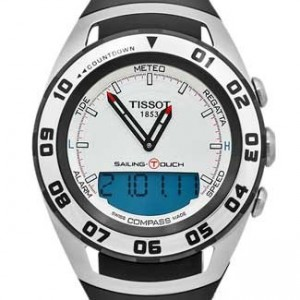 Tissot Sailing Touch Stainless Steel Mens Watch - T0564202703100-dial