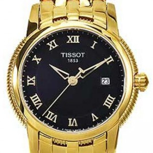 Tissot T-Classic Gold Tone SS Ladies Watch - T0312103305300-dial