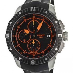 Tissot T-Navigator Black PVD SS Mens Watch - T0624271705701-dial