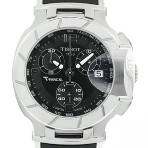 Tissot T-Race Stainless Steel Mens Watch - T0482171705700-dial