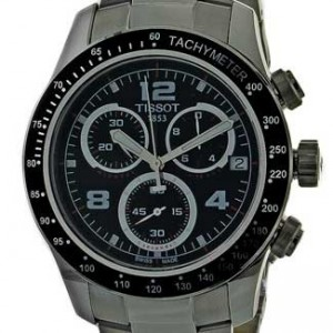 Tissot V8 Stainless Steel Mens Watch - T0394171105702-dial