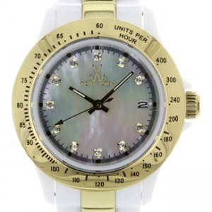 Toy Watch Heavy Metal Plastic Ladies Watch - HM09WHGD-dial