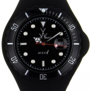 Toy Watch Jelly Plastic Ladies Watch - JTB02BK-dial