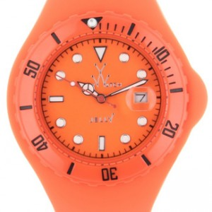 Toy Watch Jelly Plastic Ladies Watch - JTB03OR-dial