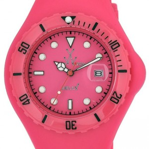 Toy Watch Jelly Plastic Ladies Watch - JTB04PS-dial