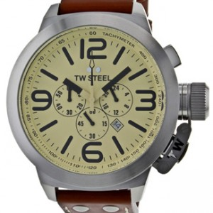 TW Steel Canteen Stainless Steel Mens Watch - TW3R-dial